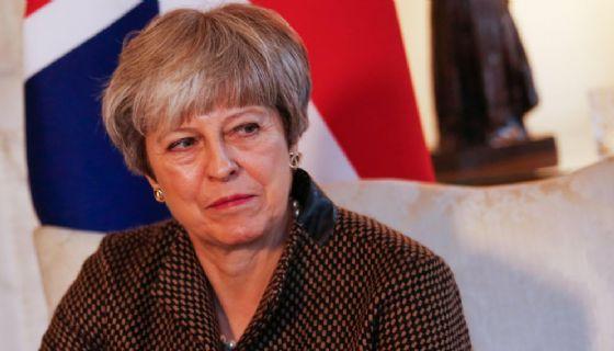La premier britannica Theresa May