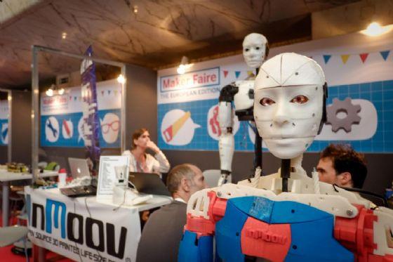 Maker Faire Roma, prende il via il più grande evento sull'Impresa 4.0