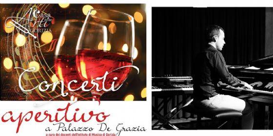 """Per la rassegna """"Concerti Aperitivo"""" a Gorizia il pianista Giulio Scaramella"""