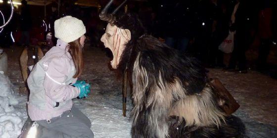 5 dicembre: in Valcanale ci sono i Krampus