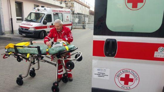 L'incidente è avvenuto nei pressi del cimitero di Orbassano (© Croce Rossa)