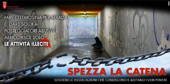 Il Comune di Trieste avvia la campagna contro l'accattonaggio
