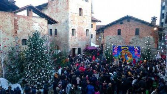 Natale al Ricetto (© Diario di Biella)