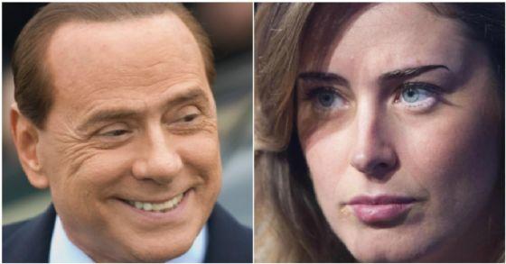 Silvio Berlusconi ha accusato Maria Elena Boschi di non aver fatto abbastanza per difendere le donne dalla violenza di genere