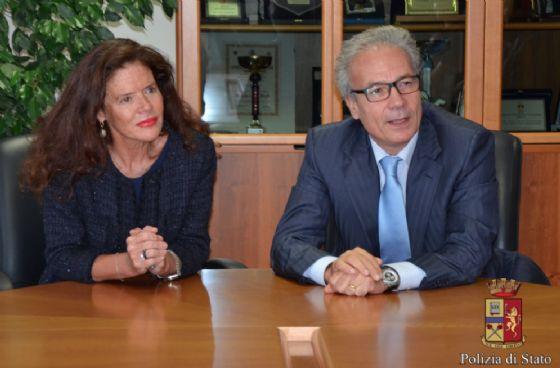 Il Procuratore capo della Repubblica del Tribunale, Teresa Angela Camelio insieme al questore Alfredo Parisi (© Diario di Biella)