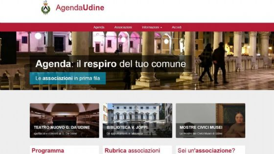 Nasce una nuova 'Casa comune' virtuale per gli eventi della città (© Comune di Udine)