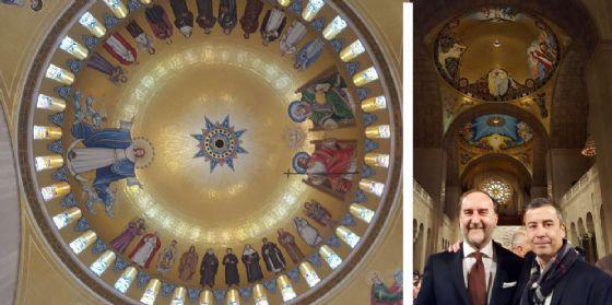 E' 'made in Friuli' la cupola della terza chiesa cristiana più grande al mondo (© Efnm)
