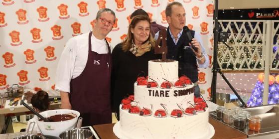 Grande successo per Ernst Knam al Tiare Shopping