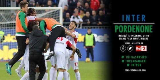 Tim Cup, Inter vs Pordenone: così Davide batte Golia! (© Pordenone Calcio)
