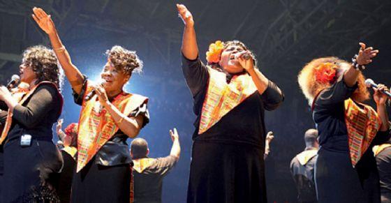 Coro gospel al Teatro  Colosseo