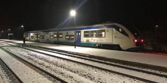 Sacile-Maniago: partenza del primo treno passeggeri (© Comitato Pendolari Alto Friuli)