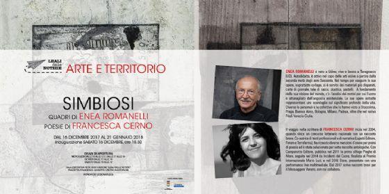 """A Ronchi dei Legionari la mostra """"Simbiosi"""" dell'artista udinese Enea Romanelli"""