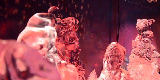 Natale monfalconese: l'inaugurazione del presepe di ghiaccio più grande d'Italia (© Ivan Bianchi)