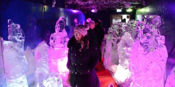 Natale monfalconese: l'inaugurazione del presepe di ghiaccio più grande d'Italia