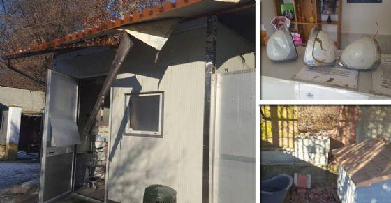I danni al canile Enpa di via Germagnano