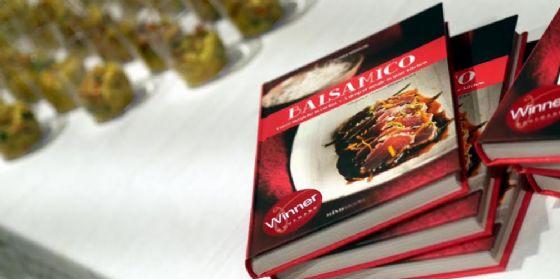 """Il libro """"Balsamico"""" protagonista nella cornice di Eataly Trieste (© Gloria Midolini)"""