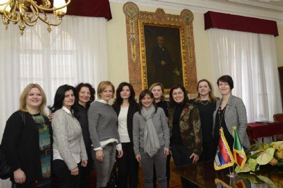La componente femminile della comunità serba di Trieste