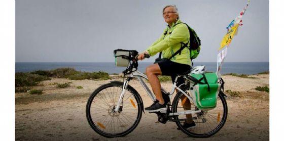Biciterapia: Mila Brollo e il suo viaggio in bici da Gemona a Lampedusa