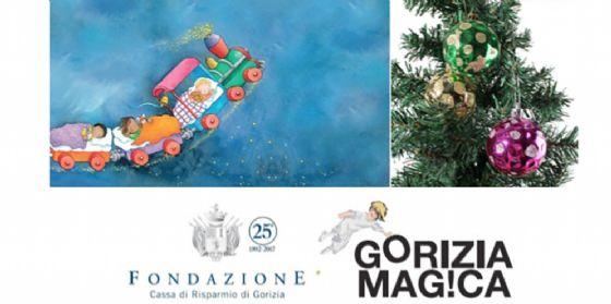 Gorizia Magica, un 'laboratorio da favola' insegna a disegnare i ninnoli per l'albero di Natale (© Gorizia magica)