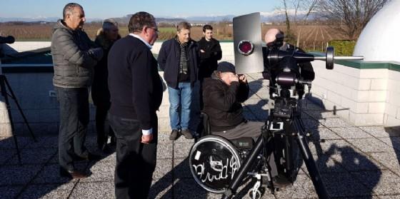 Osservazioni con il telescopio solare