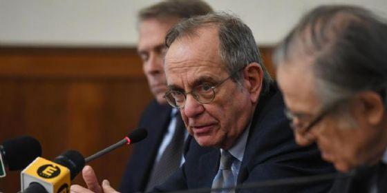 Il Ministro delle Finanze, Pier Carlo Padoan