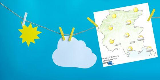 Che tempo farà lunedì 25 dicembre? Ve lo dice l'Osmer Fvg (© Osmer Fvg)