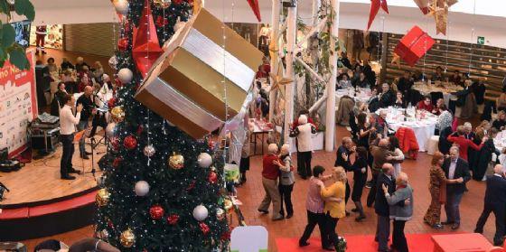 Grande partecipazione per l'edizione 2017 di 'Nonno Natale' (© Città Fiera)