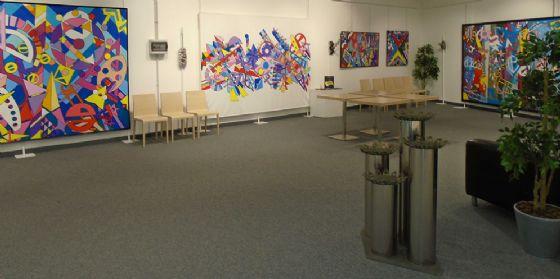 Inaugurata al Tiare Shopping di Villesse la mostra di Marino Salvador
