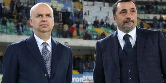 Fassone e Mirabelli, dirigenti del nuovo Milan cinese