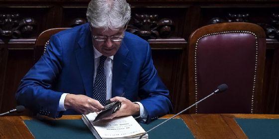 Il premier Paolo Gentiloni a Palazzo Chigi
