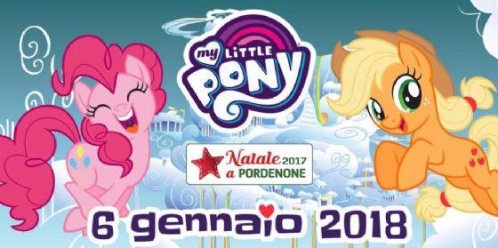 """L' Epifania a Pordenone è insieme ai """"My Little Pony"""" (© Comune di Pordenone)"""