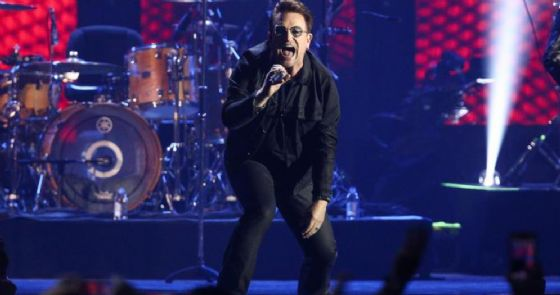 Bono Vox, leader degli U2