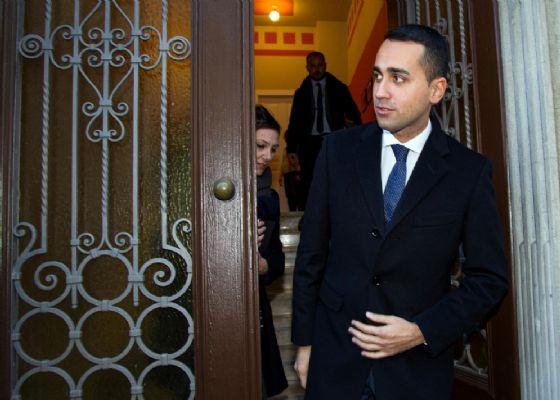 Il candidato premier del M5s, Luigi Di Maio