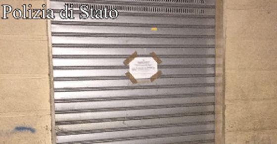 I controlli hanno portato alla sospensione della licenza del locale