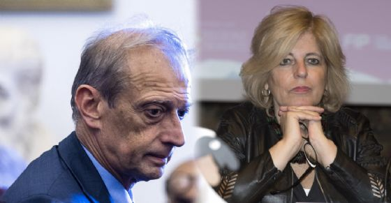 Piero Fassino e Antonella Parigi