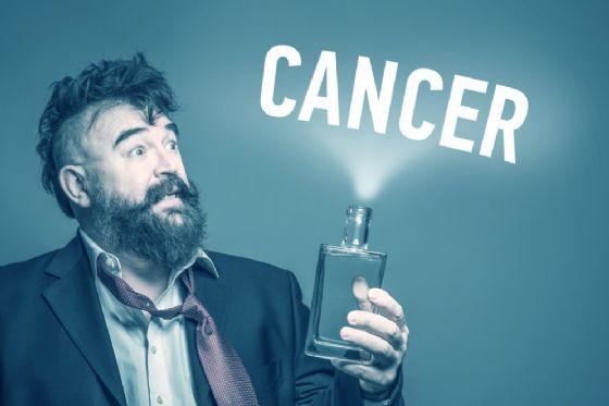 L'alcol provoca 7 tipi di cancro