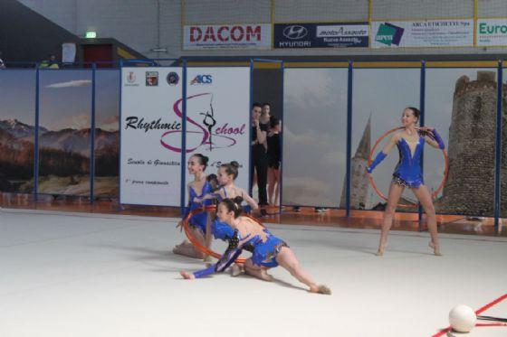 Un momento di un'esibizione (© Diario di Biella)