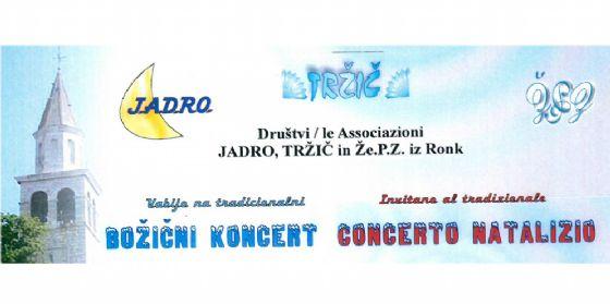 Concerto di canti natalizi a Ronchi dei Legionari (© Associazione Culturale Jadro)