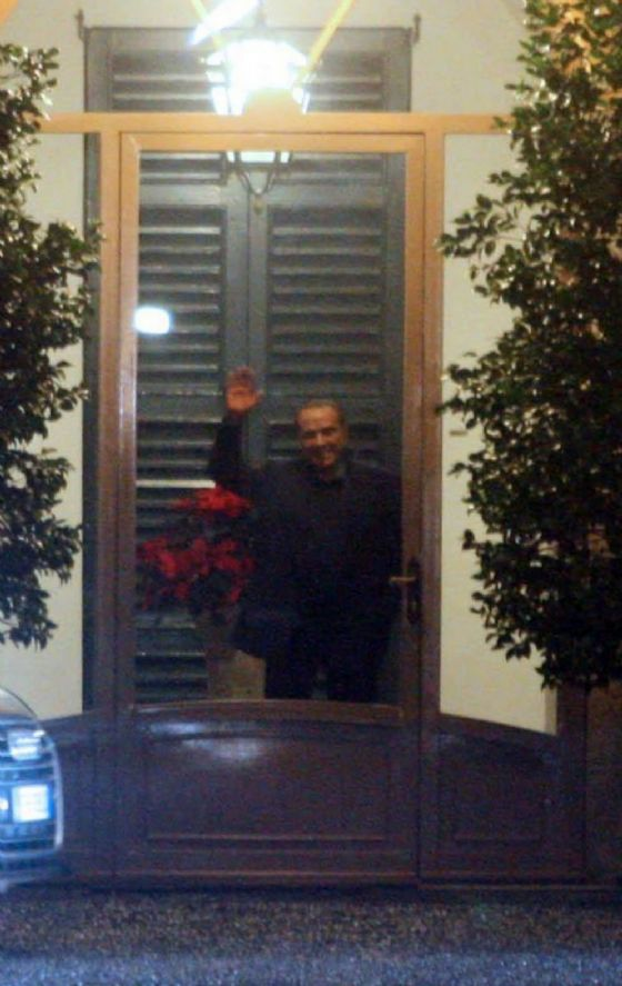 Il leader di Forza Italia Silvio Berlusconi