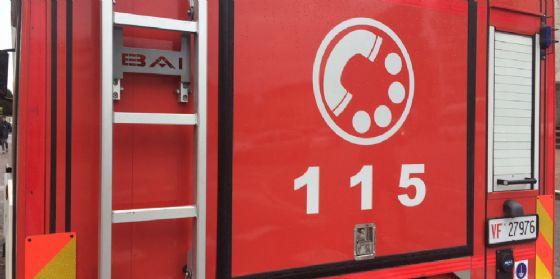 Scoppia l'incendio nella casa vacanze: le fiamme sono partite dalla stufa (© Diario di Udine)