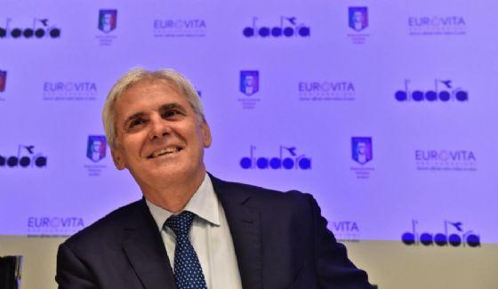 Il presidente degli arbitri Marcello Nicchi