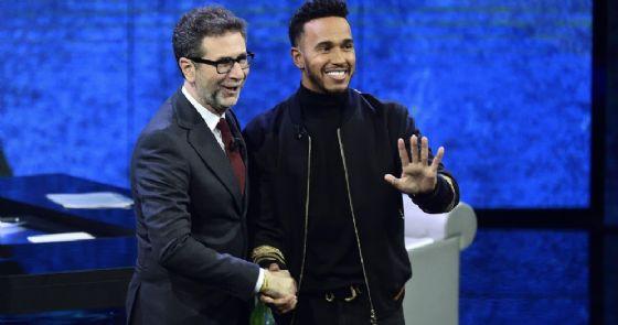 Hamilton pagato 150 mila euro per l'ospitata in RAI