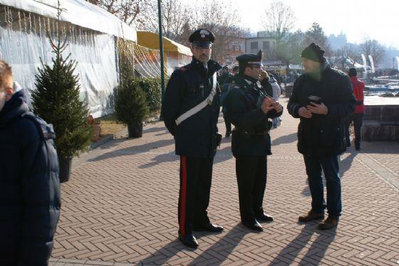 Controllo dei carabinieri, a Viverone (© Diario di Biella)