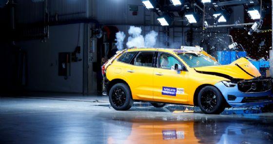 La Volvo Xc60, risultata l'auto più sicura nella categoria Large Off-Road