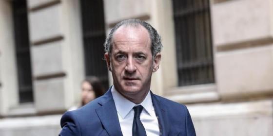 Il presidente Luca Zaia