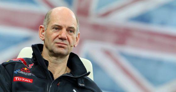 Il direttore tecnico della Red Bull, Adrian Newey