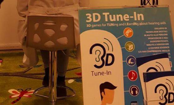 Il laboratorio 3D per i problemi di udito