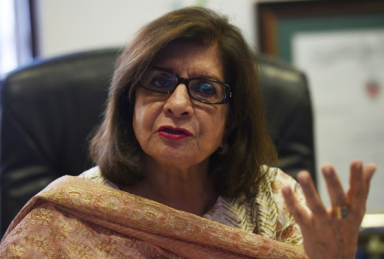 Sultana Siddiqui, a Pakistani producer, who runs her own TV station says she has faced vitriol on social media and pressure from media regulators because some shows aired tackle tough social issues