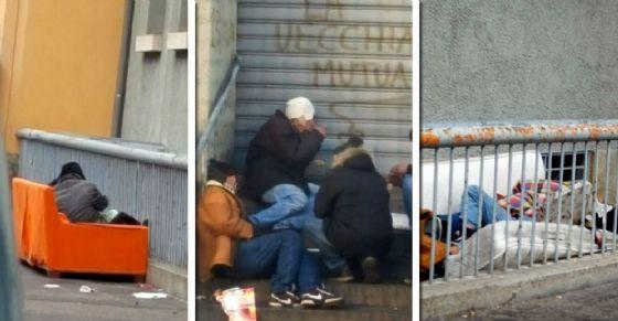 Degrado e mancanza di sicurezza in via Montanaro (© Diario di Torino)