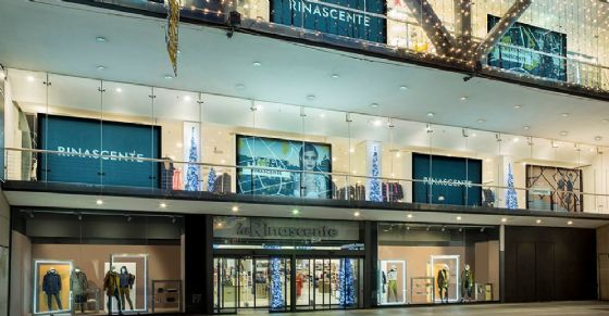 Store di via Lagrange a Torino (© Rinascente)